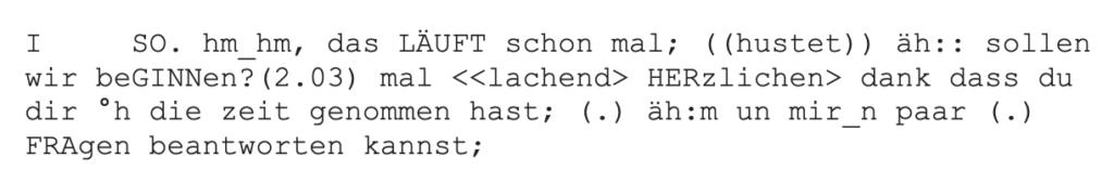 Beispiel GAT2 Minimaltranskript