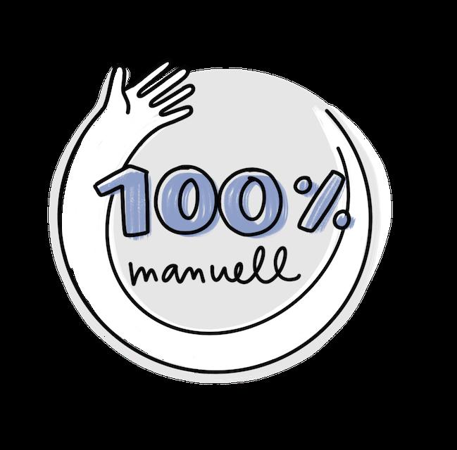 Transkripto - 100 % Manuell